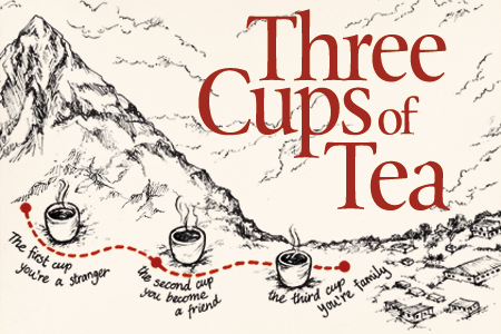 rhetoric three cups of tea Investigate five examples of irony and support your examples with quotes or situations from the text the book is called three cups of tea help thanksssss.