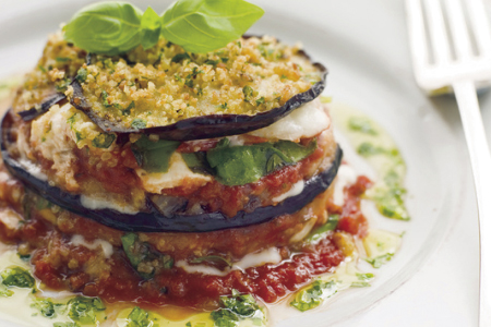 sauce eggplant with tomato garlic and mint eggplant with tomato garlic ...