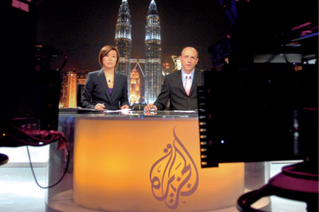 The rise and rise of Al Jazeera.
