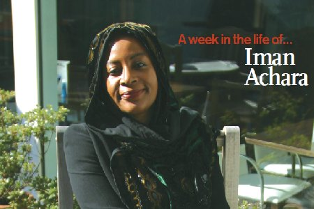 A week in the life of... Iman Achara