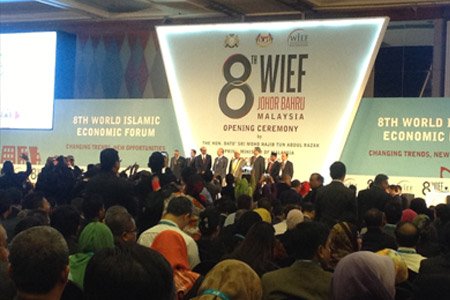 Day One at 8th WIEF, Johor Bahru, Malaysia. (Afternoon)