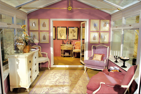 A conservatory can adopt the decor of your home & ROSE WOOD FURNITURE: 2011 Conservatories for Decoration Image View