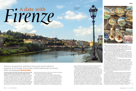 A date with Firenze - Florence Travel Review
