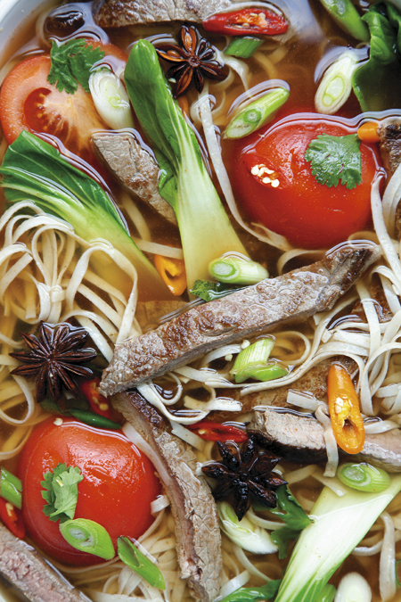 Sichuan Beef Noodle Soup With Pickled Mustard Greens Recipes ...
