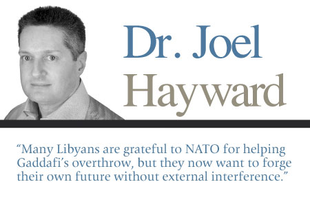 Leave Libya's Future to the Libyans