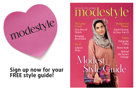 Modestyle - emel's FREE style guide, out now!
