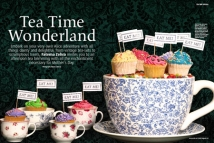 Tea-Time Wonderland - Ideas for Mother's Day