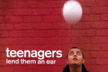 Teenagers lend them an ear